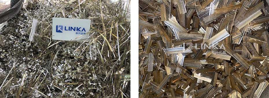 大量回收镀金废料