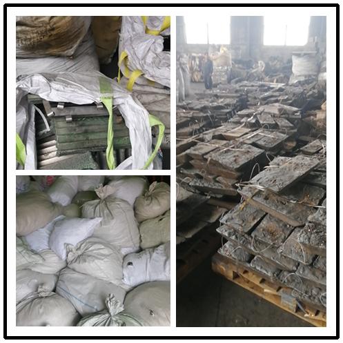 温州废镍回收现场