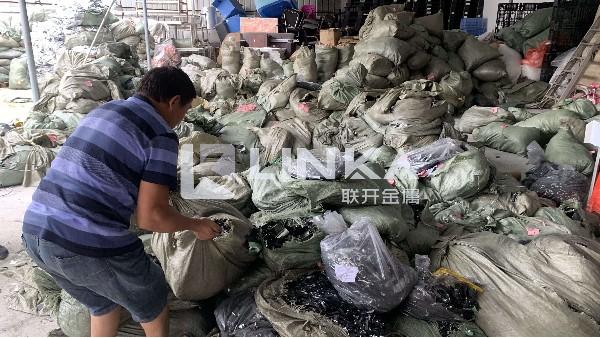东莞锂电池正负极回收案例—19年11月6日东莞联开回收现场