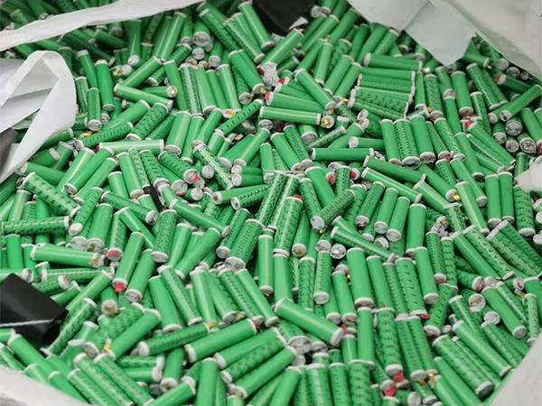 处理回收18650电芯 回收铁壳铝壳电池