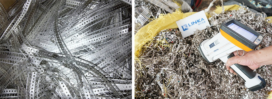 镍铁镀锡废料 回收镍铁组合图