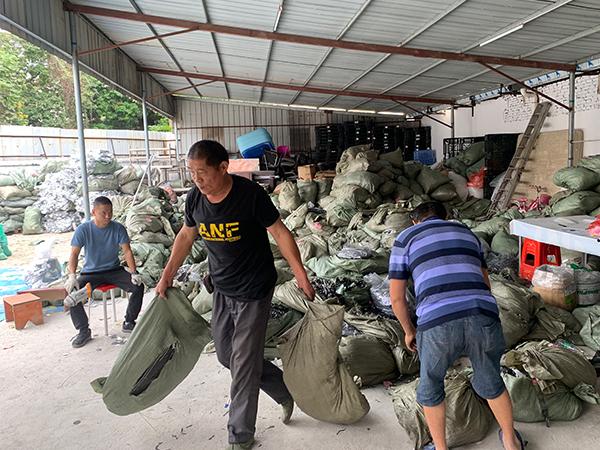东莞回收锂电池现场