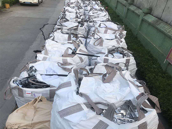 19吨废镍回收现场