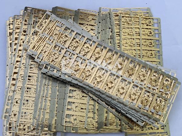 端子磷铜镀金边角料 广州镀金回收