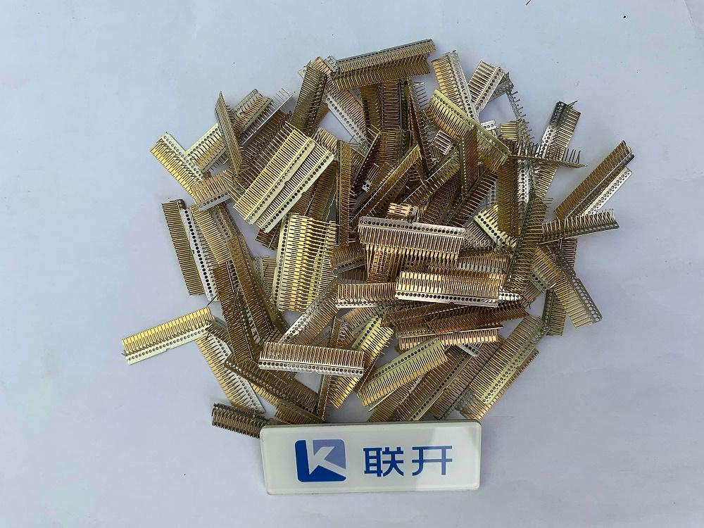 端子铜镀金边角回收 深圳镀金回收