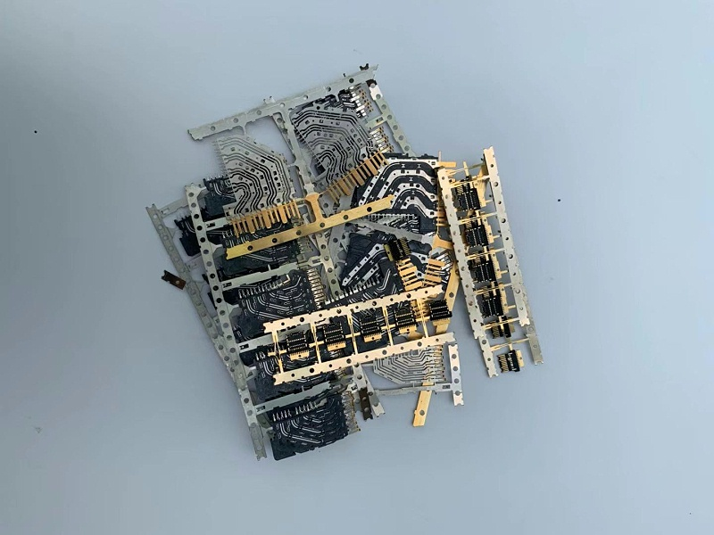 废旧电子元件镀金废料回收