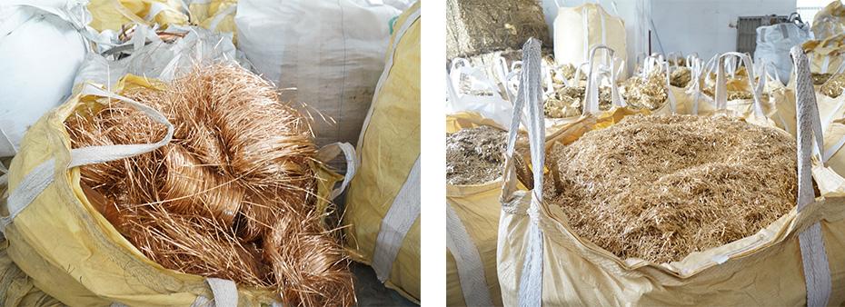 大量回收磷铜